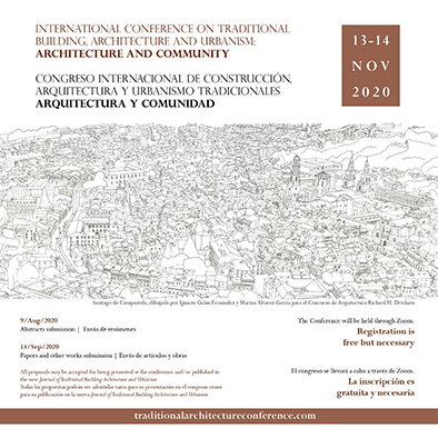 Congreso Internacional de Construcción, Arquitectura y Urbanismo Tradicionales: Arquitectura y Comunidad.